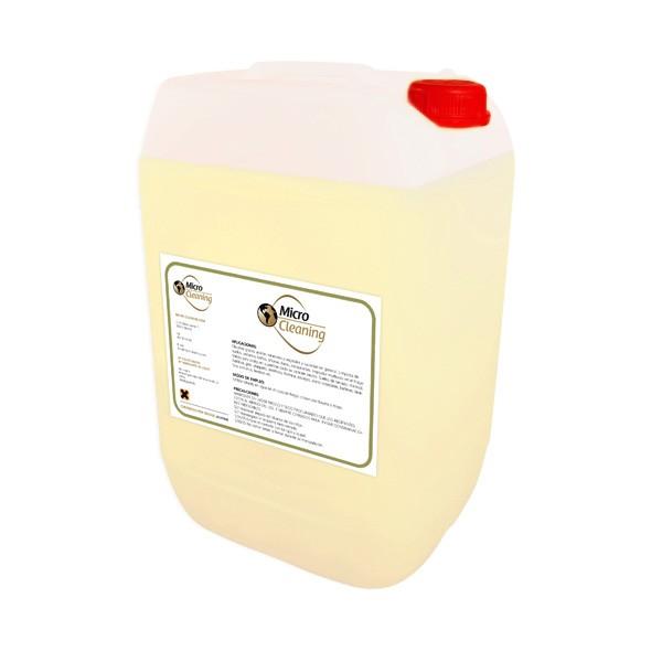 Detergente neutro con cera para aplicar en suelos como for Liquido para limpiar marmol